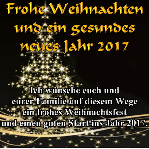 frohe weihnachten 2016 w nschen helmi und peter dreikhausen. Black Bedroom Furniture Sets. Home Design Ideas