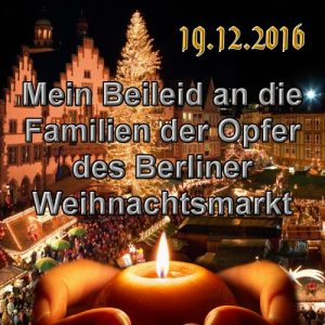 Terror auf Berliner Weihnachtsmarkt