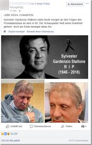 Ist Sylvester Stallone verstorben?